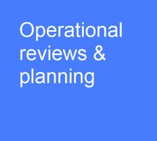 operational review and planning