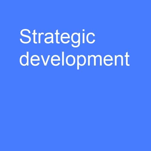Strategic development: Creating your strategy to respond to changing market trends and commercial realism