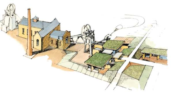 Heritage business planning consultants – Pleasley Pit, Derbyshire