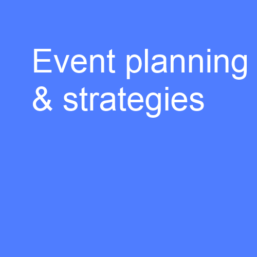 Event planning: Assessing opportunities for events and developing event strategies