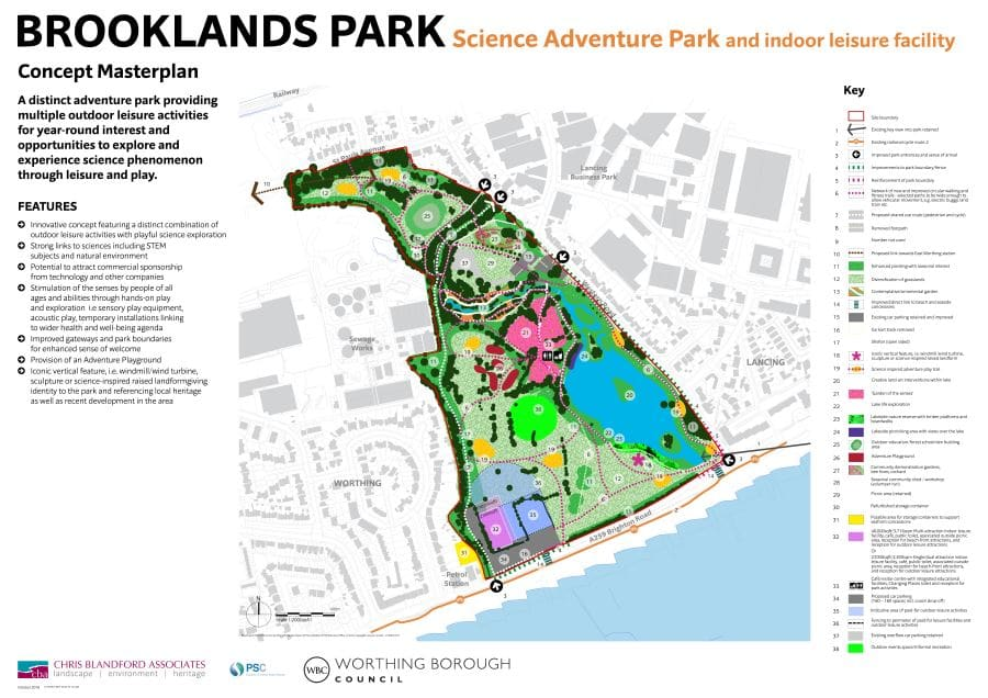 Brooklands Park Masterplan