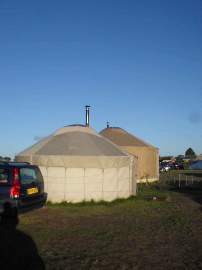Feasibility study yurts