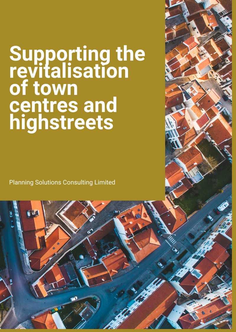 Town centre regeneration consultants